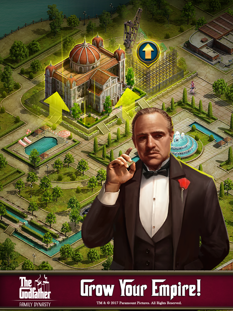 The Godfather: Family Dynasty, a Strategy/RPG Builder by Hitcents